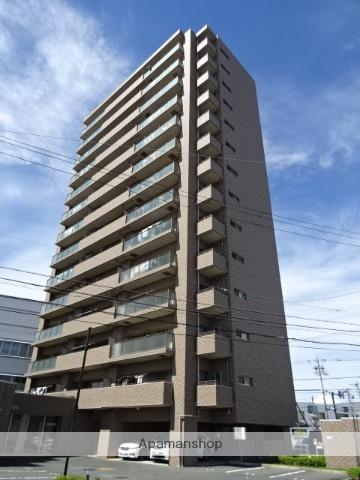 静岡県浜松市東区、浜松駅遠鉄バスバス15分サーラ下車後徒歩3分の築7年 14階建の賃貸マンション