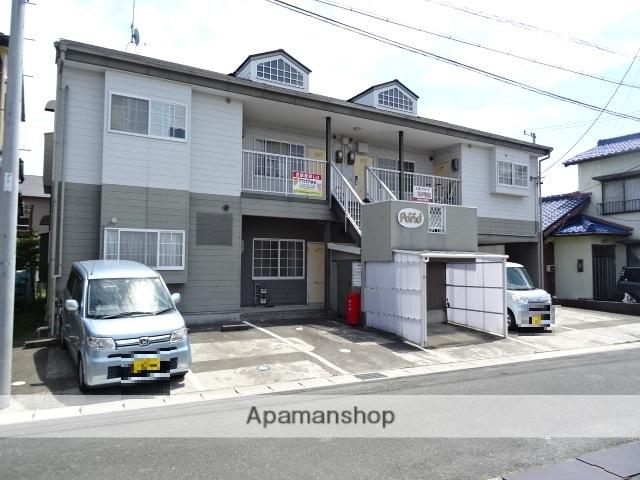 静岡県浜松市浜北区、遠州西ヶ崎駅徒歩15分の築30年 2階建の賃貸アパート