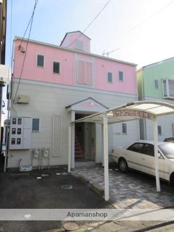 静岡県浜松市中区、浜松駅徒歩13分の築23年 2階建の賃貸アパート