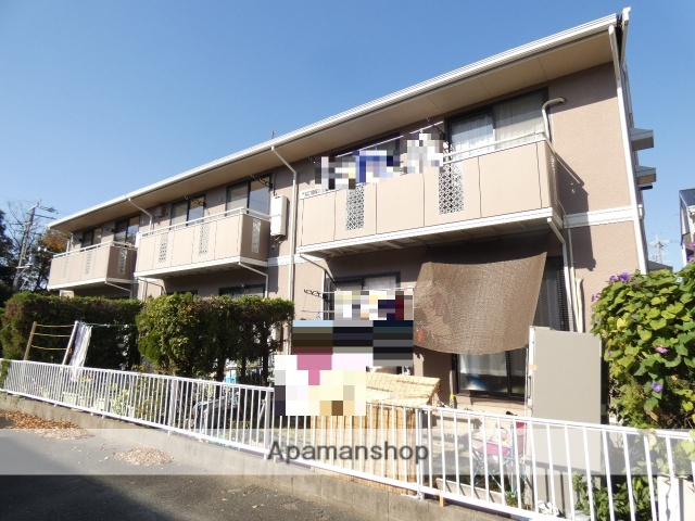 静岡県浜松市南区、浜松駅遠鉄バスバス15分本郷中下車後徒歩5分の築29年 2階建の賃貸アパート