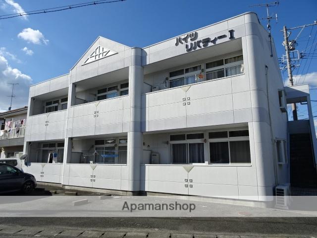 静岡県浜松市浜北区、浜北駅徒歩16分の築21年 2階建の賃貸アパート
