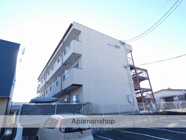 静岡県磐田市、磐田駅遠鉄バスバス25分掛塚下車後徒歩5分の築23年 3階建の賃貸マンション