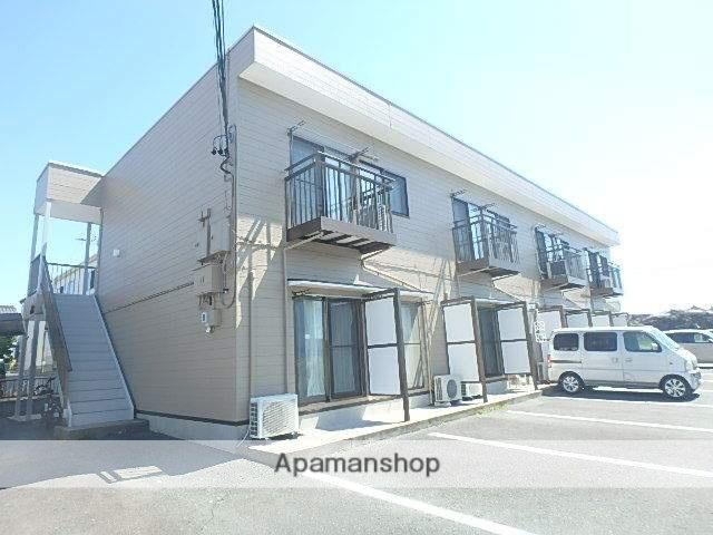 静岡県磐田市、豊田町駅遠鉄バスバス30分高木下車後徒歩6分の築14年 2階建の賃貸アパート
