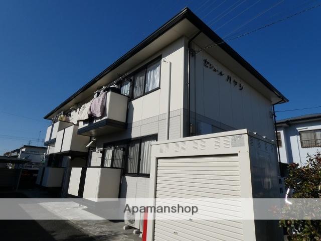 静岡県磐田市、豊田町駅ユーバスバス21分上新屋南下車後徒歩6分の築18年 2階建の賃貸アパート