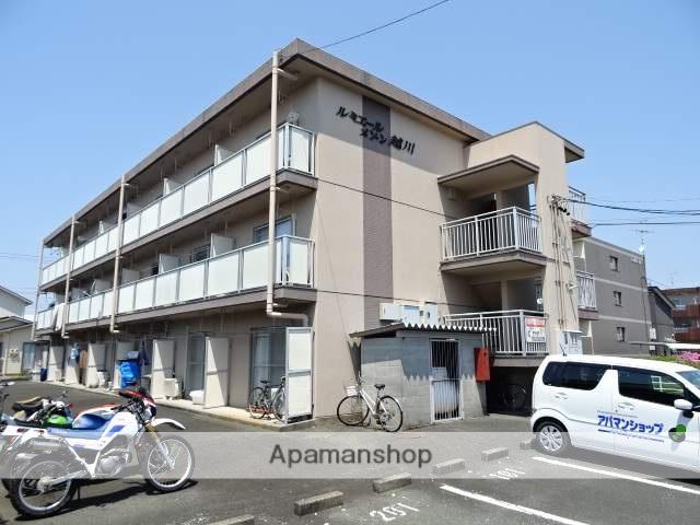 静岡県浜松市東区、浜松駅遠鉄バスバス23分有玉南下車後徒歩7分の築31年 3階建の賃貸マンション