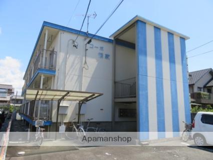 静岡県浜松市中区、浜松駅徒歩30分の築33年 2階建の賃貸マンション