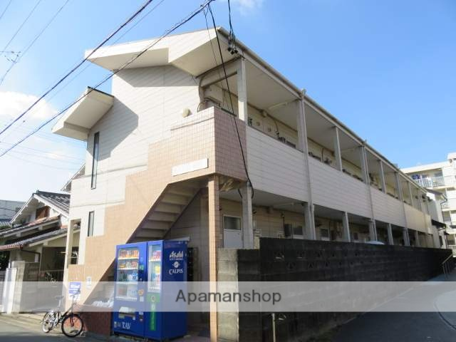 静岡県浜松市中区、浜松駅徒歩6分の築28年 2階建の賃貸アパート