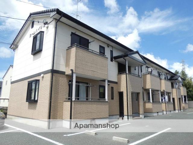 静岡県浜松市中区、浜松駅バス15分下屋敷下車後徒歩7分の築9年 2階建の賃貸アパート