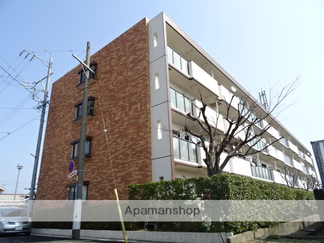静岡県浜松市中区、浜松駅遠州鉄道バスバス15分西伊場下車後徒歩5分の築34年 4階建の賃貸マンション