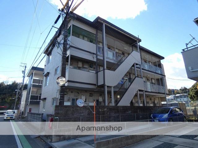 静岡県浜松市東区、浜松駅バス25分有玉団地下車後徒歩10分の築36年 3階建の賃貸マンション