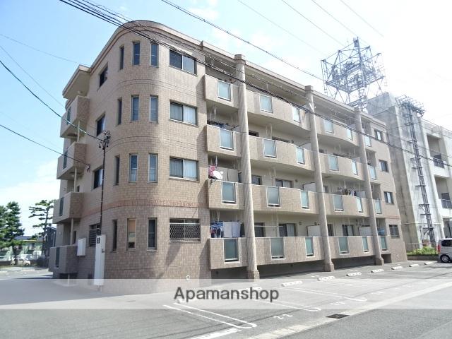 静岡県浜松市中区、浜松駅遠鉄バスバス33分追分上下車後徒歩2分の築9年 4階建の賃貸マンション