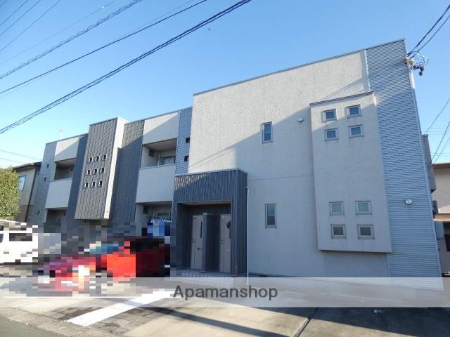 静岡県浜松市中区、浜松駅バス24分旭ヶ丘下車後徒歩3分の築10年 2階建の賃貸アパート