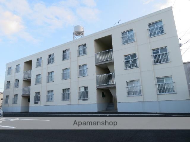 静岡県浜松市中区、浜松駅徒歩66分の築33年 3階建の賃貸マンション