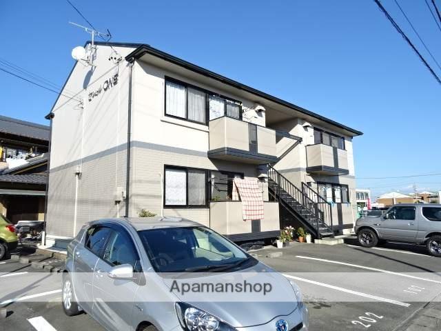 静岡県浜松市東区、天竜川駅徒歩10分の築21年 2階建の賃貸アパート