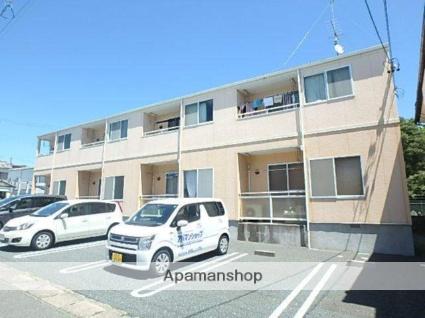 静岡県磐田市、磐田駅遠鉄バスバス5分西小学校下車後徒歩2分の築11年 2階建の賃貸アパート