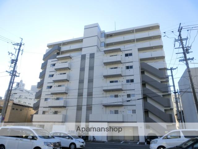 静岡県浜松市中区、浜松駅徒歩13分の築8年 9階建の賃貸マンション