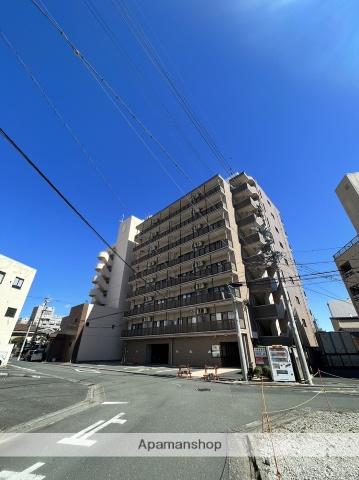 静岡県浜松市中区、浜松駅徒歩4分の築11年 9階建の賃貸マンション