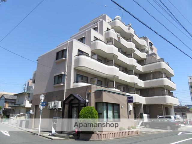 静岡県浜松市中区、浜松駅徒歩9分の築28年 6階建の賃貸マンション