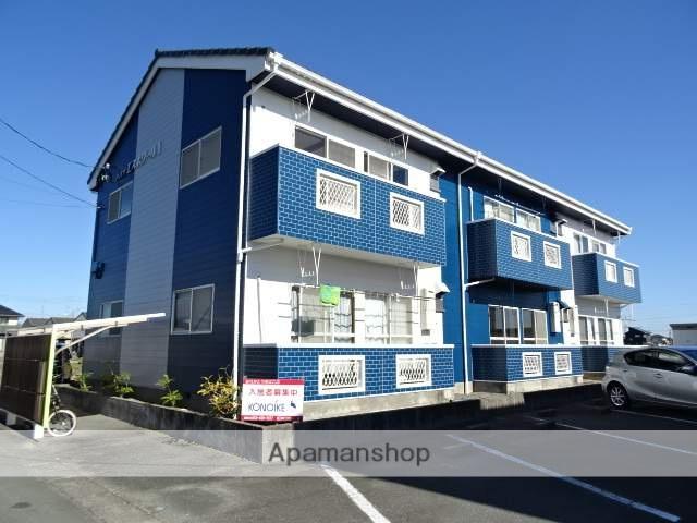 静岡県浜松市東区、浜松駅バス35分安間下車後徒歩7分の築27年 2階建の賃貸アパート