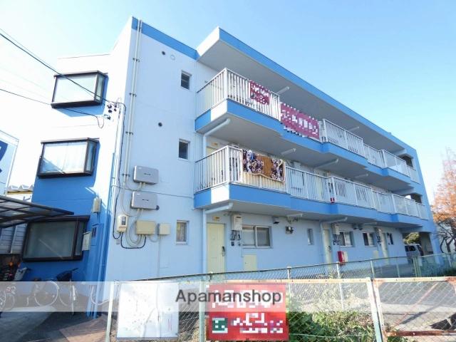 静岡県浜松市中区、浜松駅遠鉄バスバス10分天王森下車後徒歩8分の築32年 3階建の賃貸マンション