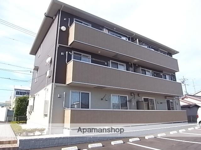 静岡県浜松市中区、浜松駅遠鉄バスバス20分萩丘下車後徒歩20分の築4年 3階建の賃貸マンション
