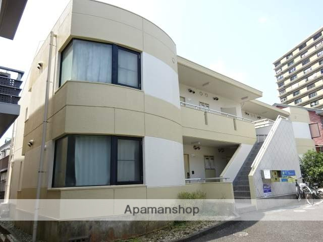 静岡県浜松市中区、浜松駅徒歩12分の築30年 2階建の賃貸マンション