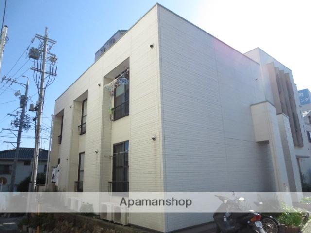 静岡県浜松市中区、浜松駅徒歩9分の築13年 2階建の賃貸アパート
