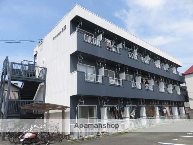 静岡県浜松市中区、浜松駅徒歩16分の築25年 3階建の賃貸アパート