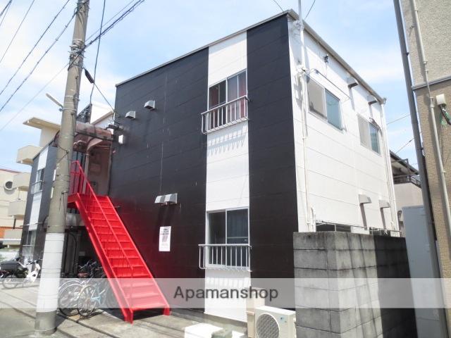 静岡県浜松市中区、浜松駅遠鉄バスバス14分浜商前下車後徒歩2分の築32年 2階建の賃貸アパート