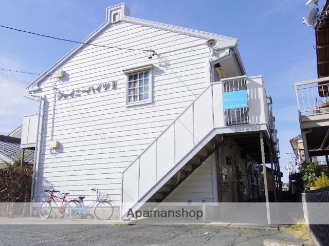 静岡県浜松市中区、浜松駅バス20分泉町中下車後徒歩3分の築29年 2階建の賃貸アパート