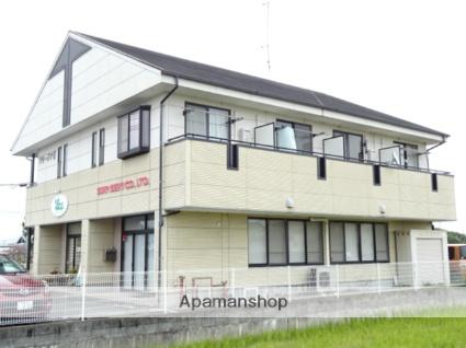 静岡県浜松市東区、浜松駅遠鉄バスバス50分半田上下車後徒歩1分の築17年 2階建の賃貸アパート