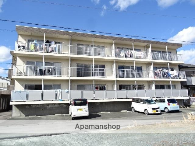 静岡県浜松市天竜区、天竜二俣駅徒歩22分の築23年 3階建の賃貸マンション