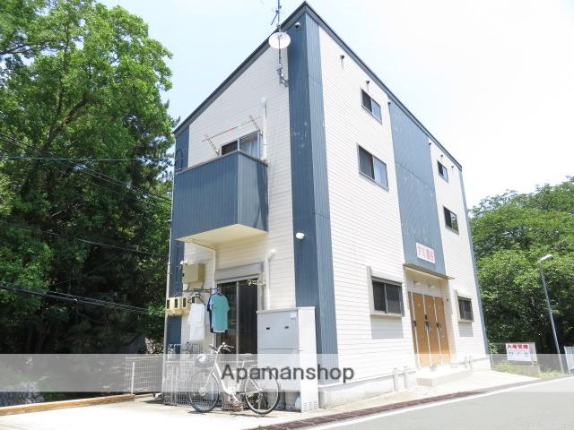 静岡県浜松市中区、浜松駅遠鉄バスバス11分鹿谷町下車後徒歩3分の築7年 2階建の賃貸アパート