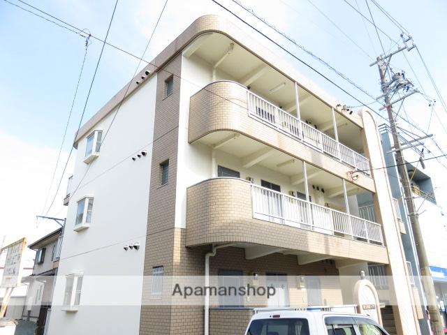 静岡県浜松市中区、浜松駅バス10分柳通り下車後徒歩2分の築21年 3階建の賃貸マンション