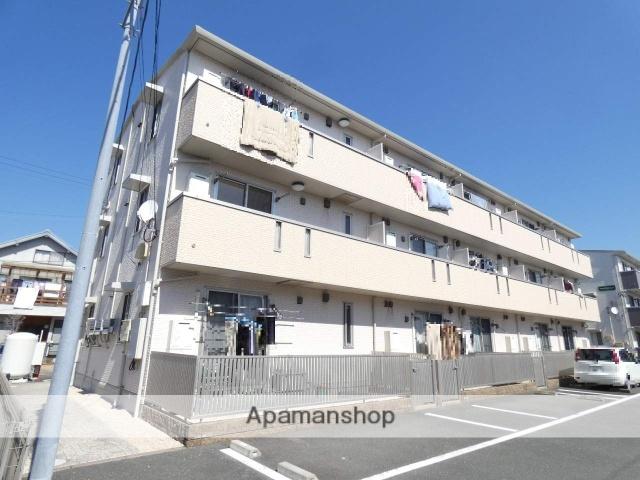 静岡県浜松市東区、天竜川駅徒歩23分の築9年 3階建の賃貸アパート