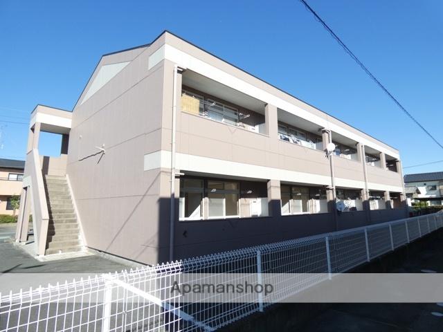静岡県浜松市浜北区、浜北駅徒歩12分の築22年 2階建の賃貸アパート