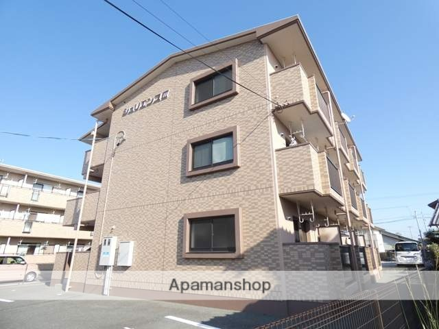 静岡県浜松市南区、天竜川駅徒歩30分の築10年 3階建の賃貸マンション
