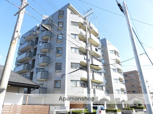 静岡県浜松市中区、浜松駅徒歩7分の築26年 7階建の賃貸マンション