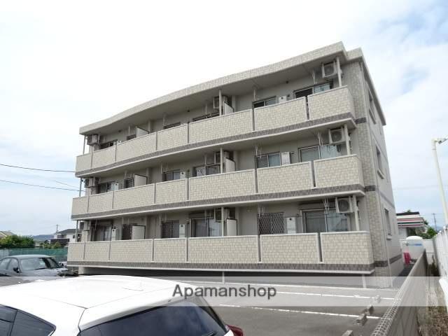 静岡県浜松市浜北区、遠州小林駅徒歩25分の築4年 3階建の賃貸マンション