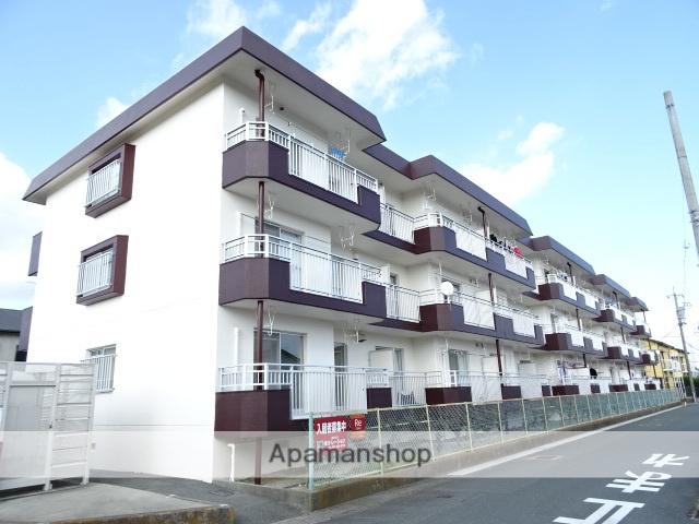 静岡県浜松市東区、天竜川駅徒歩24分の築24年 3階建の賃貸マンション