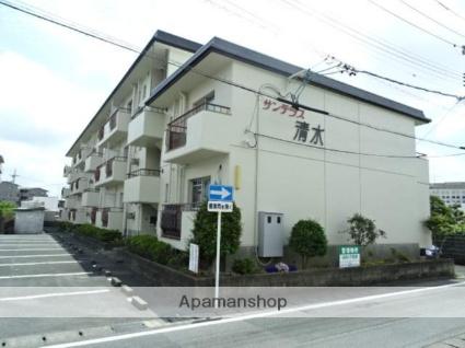 静岡県浜松市中区、浜松駅遠鉄バスバス15分青少年の入口下車後徒歩2分の築36年 3階建の賃貸マンション