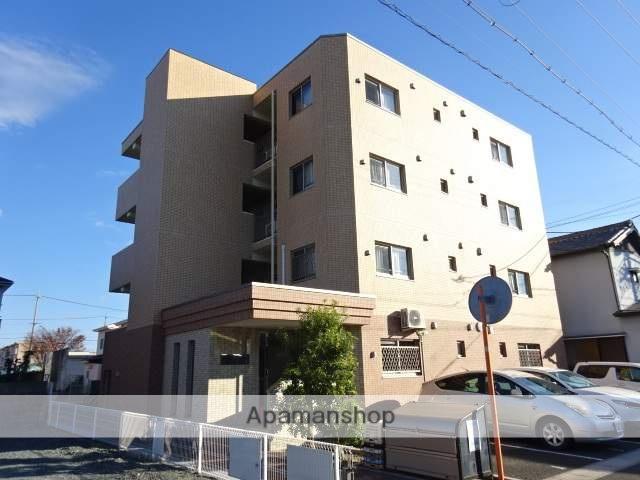 静岡県浜松市中区、浜松駅遠鉄バスバス16分向宿下車後徒歩2分の築9年 4階建の賃貸マンション