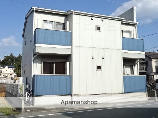 静岡県浜松市中区、浜松駅遠鉄バスバス25分大正坂下下車後徒歩1分の築9年 2階建の賃貸アパート