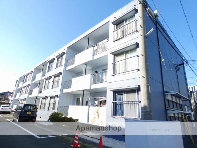 静岡県浜松市南区、天竜川駅徒歩22分の築35年 3階建の賃貸マンション