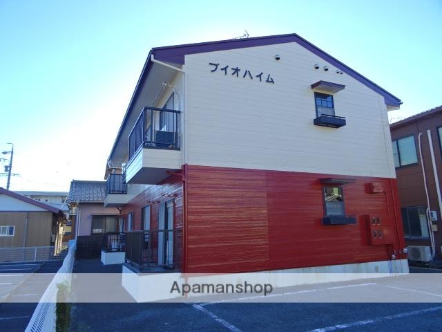 静岡県浜松市中区、浜松駅遠鉄バスバス35分金田工業下車後徒歩1分の築21年 2階建の賃貸アパート