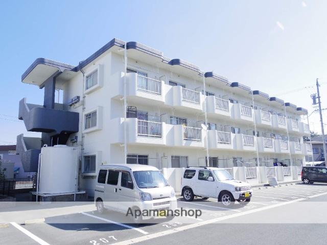 静岡県浜松市中区、浜松駅遠鉄バスバス30分萩丘下車後徒歩1分の築29年 3階建の賃貸マンション