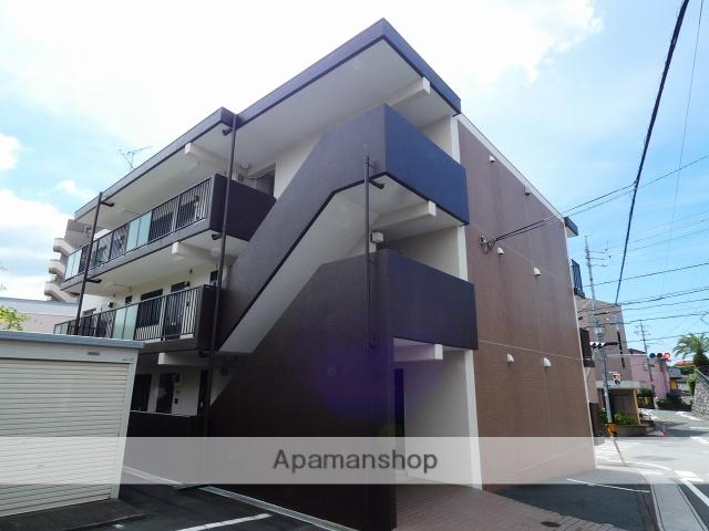 静岡県浜松市中区、浜松駅バス13分さいが崖下車後徒歩4分の築21年 3階建の賃貸マンション