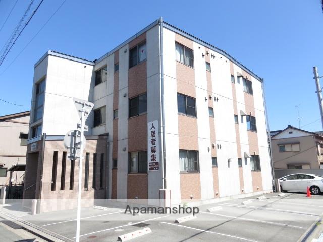 静岡県浜松市中区、浜松駅徒歩12分の築9年 3階建の賃貸マンション
