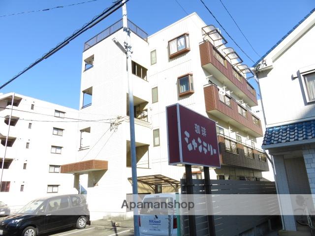 静岡県浜松市中区、浜松駅徒歩16分の築20年 4階建の賃貸マンション