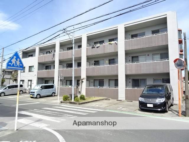静岡県浜松市南区、浜松駅遠鉄バスバス18分三島南下車後徒歩3分の築11年 3階建の賃貸マンション